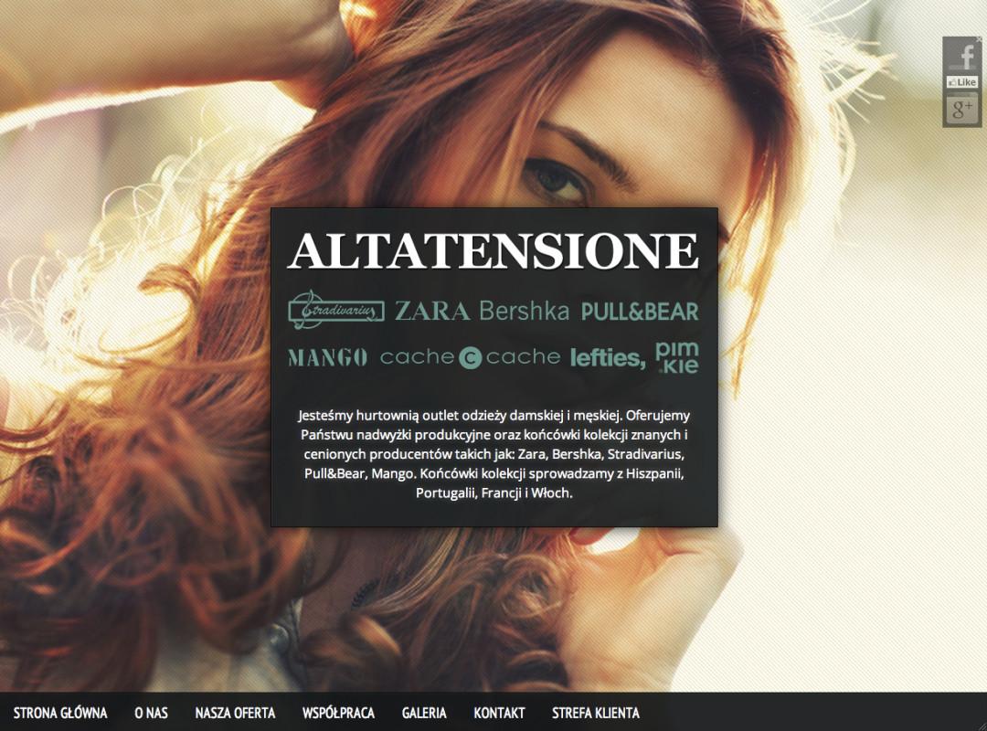 Altatensione – hurtownia odzieży