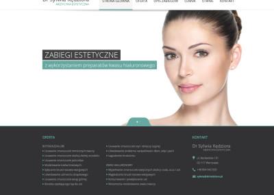 Dr Sylwia Kędziora – medycyna estetyczna